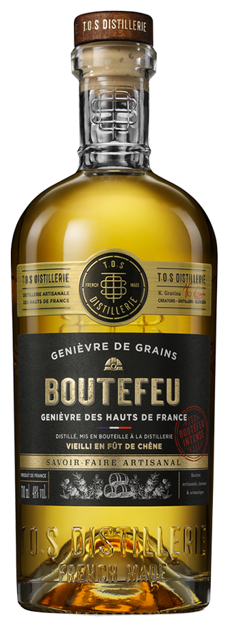 Boutefeu Intense, un genièvre d'exception.