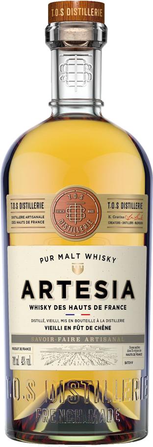 Whisky artésia, nouveau produit des Hauts-De-France